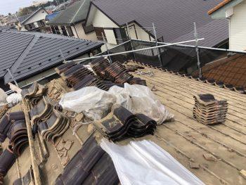 千葉で瓦の撤去
